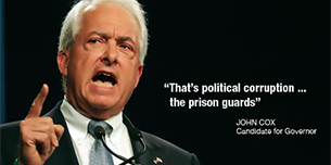 Anti Prison Guard John Cox